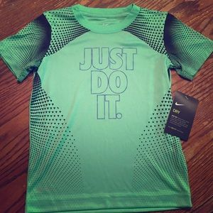 NWT Nike Electric Green Dri-Fit T-shirt